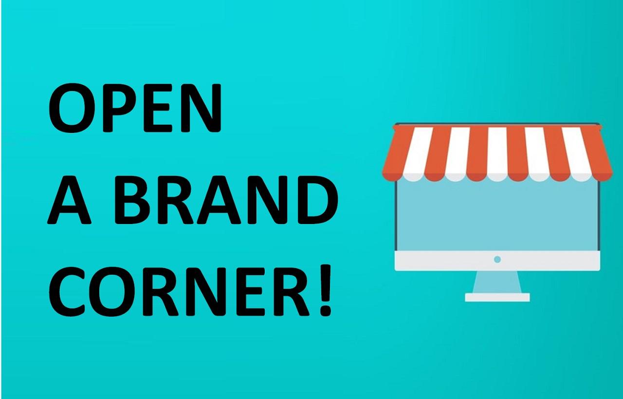 Photo of Open a Brand Corner!