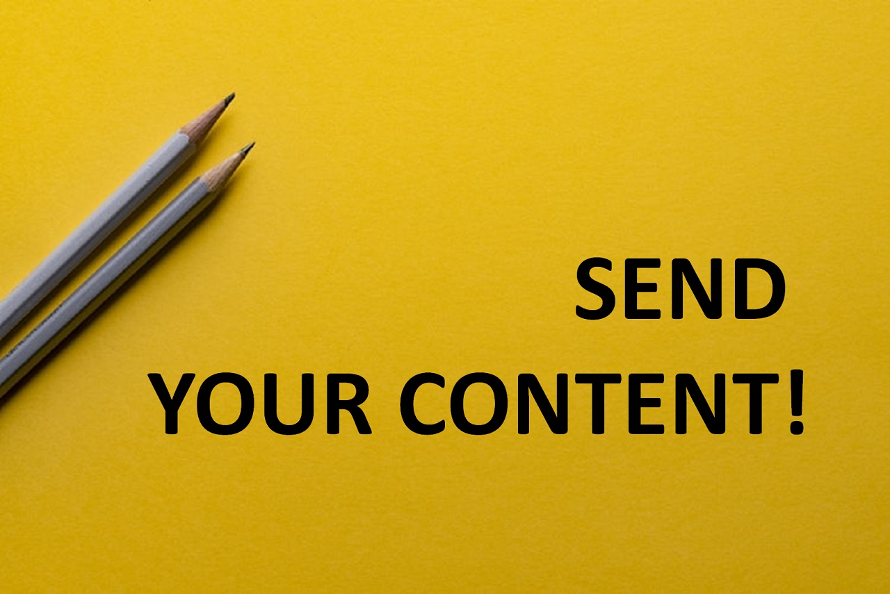 Photo of Send Your Content!