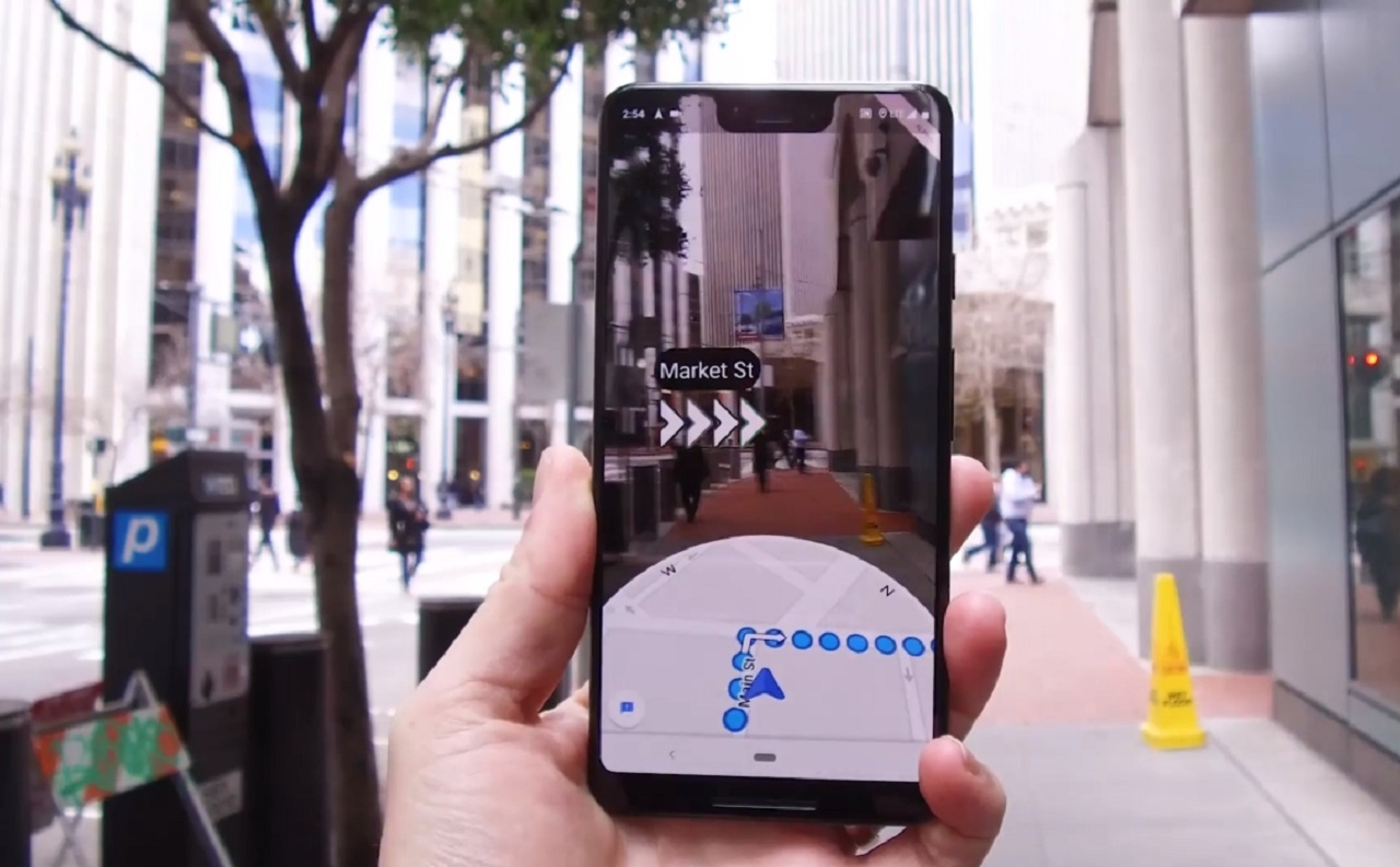 Photo of Google Maps Offers Live Visual!