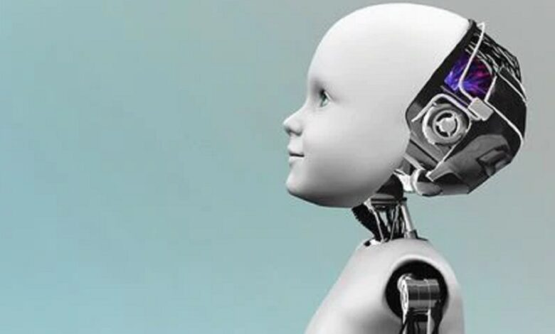 child robot being developed to feel pain