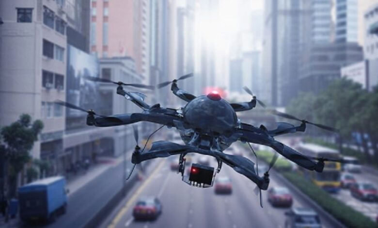 drones are used to cope with covid-19