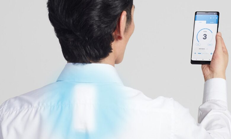 wearable air conditioning comes to our lives