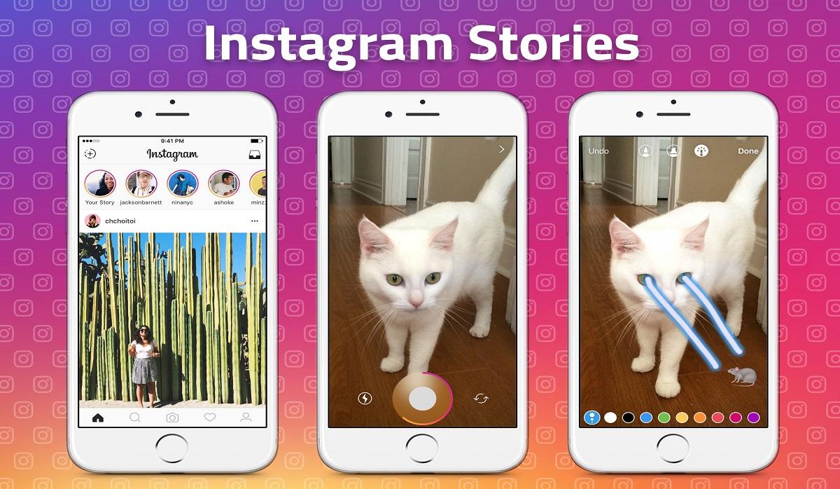 how do you use insta story
