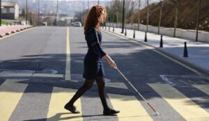 smart cane for the visually impaired and blind people moblobi