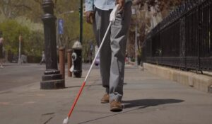 smart cane for the visually impaired and blind people
