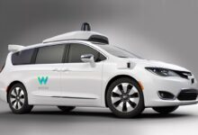 Photo of Google's Driverless Taxi Waymo One
