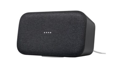 Photo of Google Home Max Charcoal