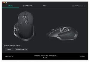 what is logitech options moblobi